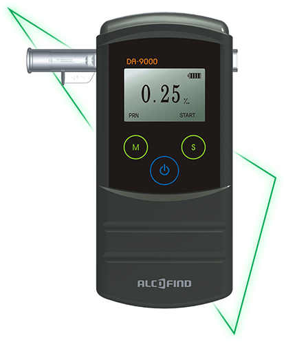 Alkomat Alcofind DA-9000
